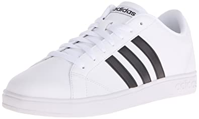 save off 54ebd 0b65f adidas NEO Women s Baseline W Casual Sneaker,White Black White,10 M
