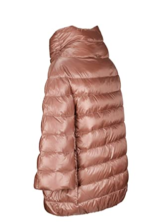 Herno - Abrigo - para Mujer Rosa Tamaño de la Marca 40: Amazon.es: Ropa y accesorios