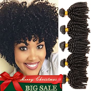 Amazon mongolian funmi hair human hair bundles afro kinky mongolian funmi hair human hair bundles afro kinky curly weave short hairstyles 100 pmusecretfo Image collections