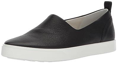 Ecco Damen Gillian Slip on Sneaker, Schwarz (Black), 38 EU