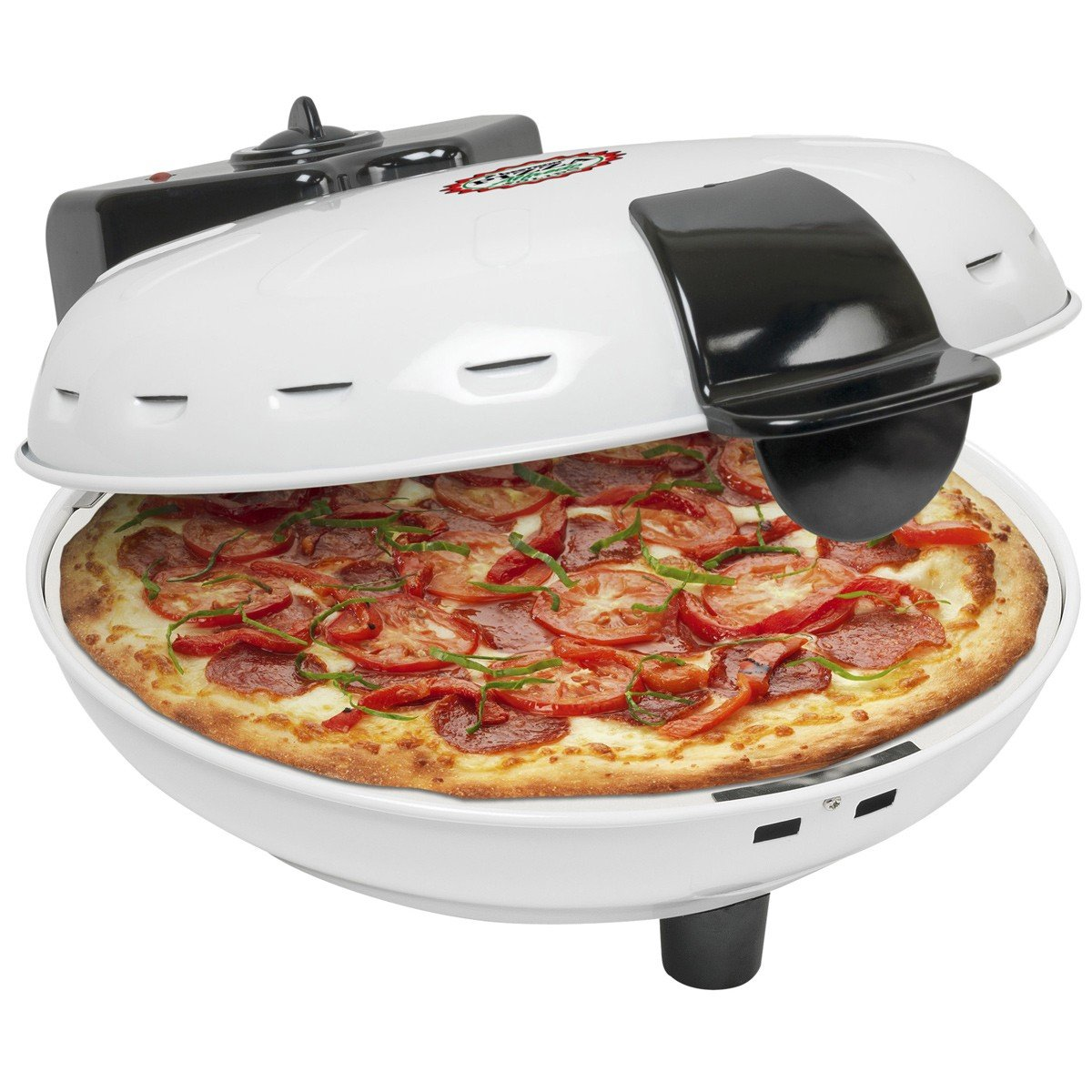 Bestron DLD9036 Forno per pizza, bianco
