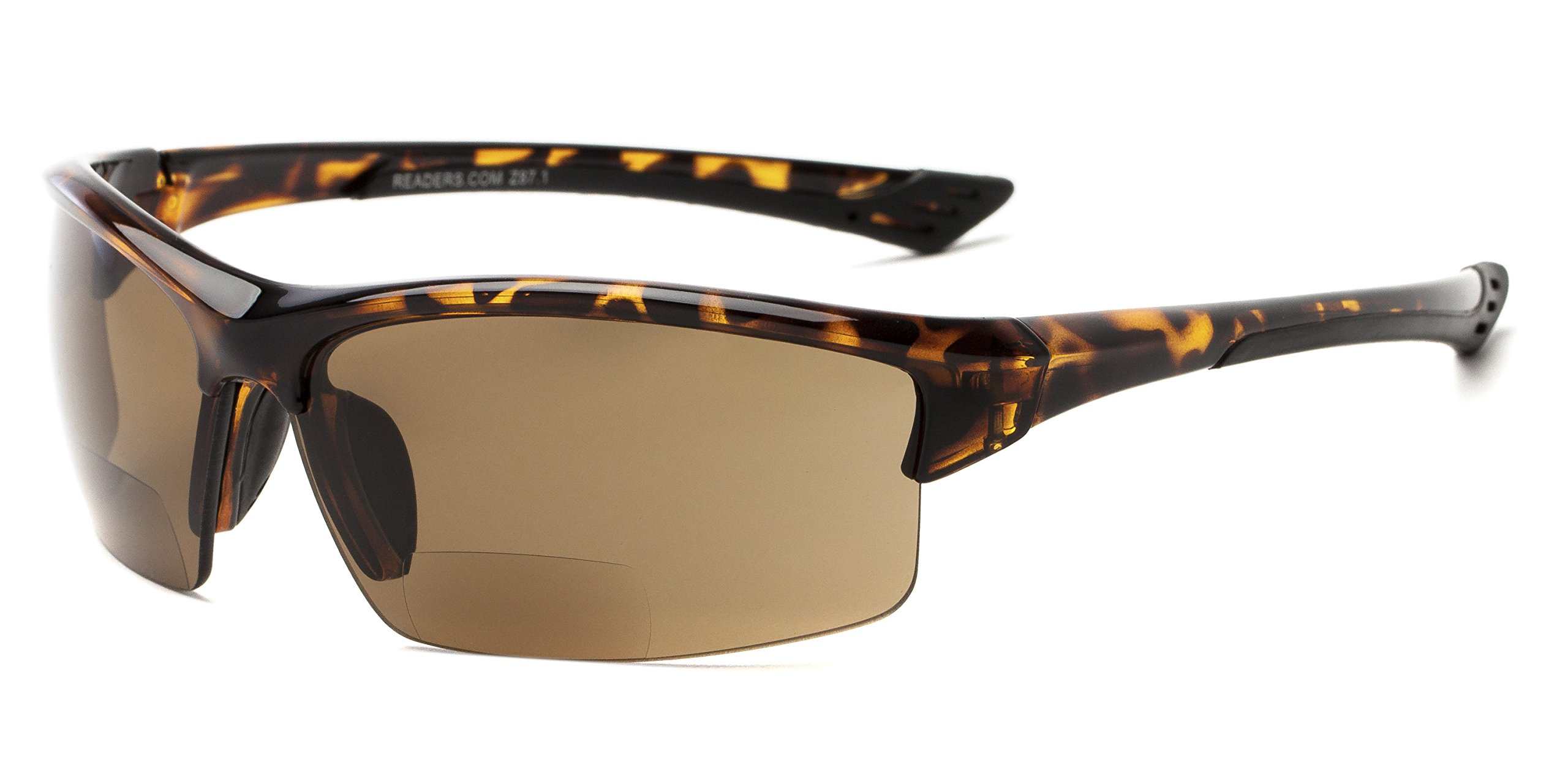 Readers.com | The Foster Bifocal Sun Reader - Sport & Wrap-Around Reading Sunglasses by Readers