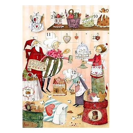 Silke Leffler – Calendario de Adviento Navidad de chocolate de pastelería Grätz Verlag