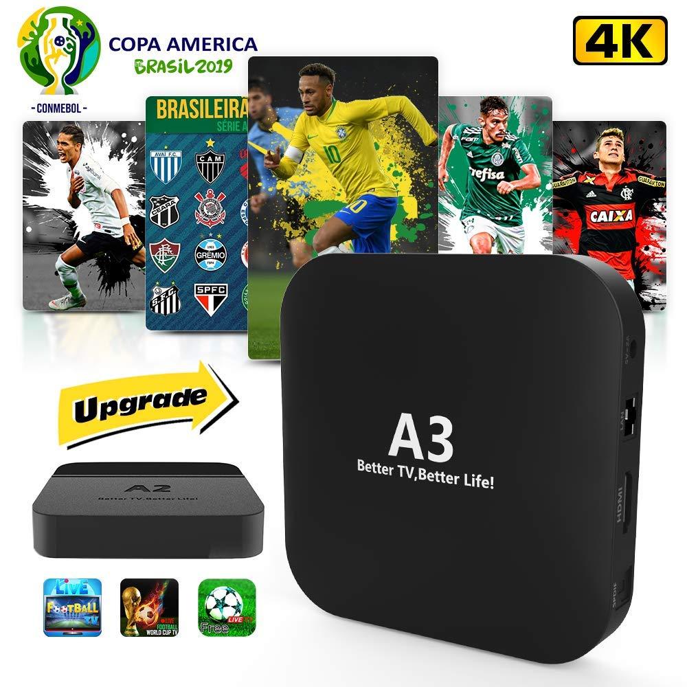 2019 Brazil Box A2 A3 Better Than IPTV 6 IPTV 8 HTV2 Mais Caixinha Brasileiro Com Mais De 200+ Popular 4K Canais Brasileiro IPTV Brazil by DOODOT