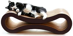PetFusion Ultimate Cat Scratcher Lounge.