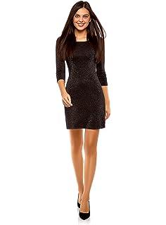 7f880004c12e5 Ex Topshop Black Sparkly Glitter Shiny Sexy Party Mini Dress Size 6 ...