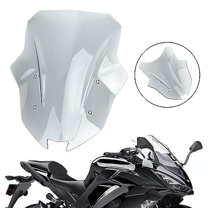 Areyourshop parabrisas para motocicleta Ka-wa-sa-ki Ninja ...