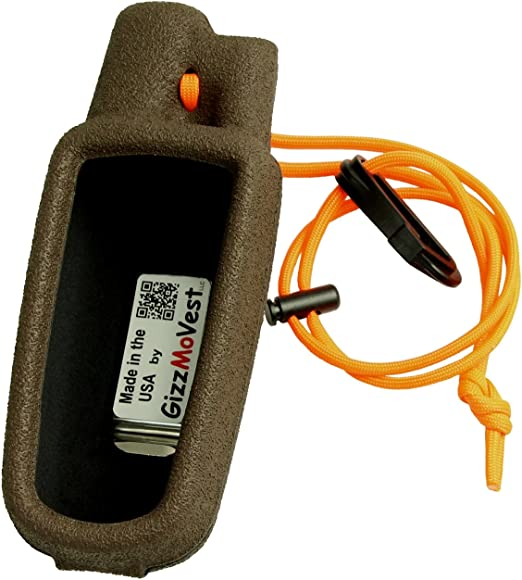 Brown, Orange Made in U.S.A. Garmin Alpha 100 Astro 320 /& 220 Protective Pouch Case Cover Holster
