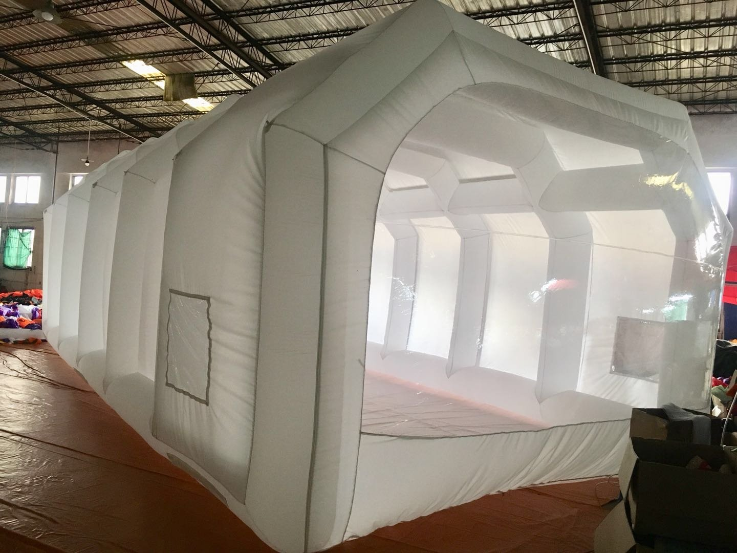 Inflatable Spray Booth Custom Tent Car Paint Booth Inflatable Car (26x13x10Ft) by LIVIQILY (Image #5)