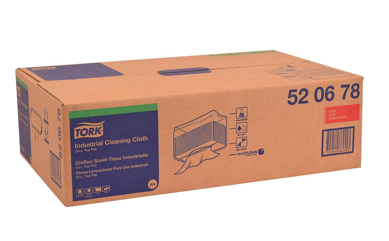 Amazon.com: Tork 520678 Paño de limpieza industrial, parte ...