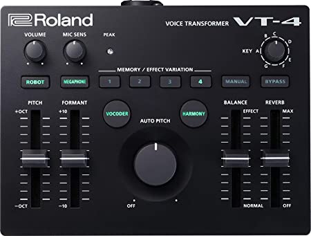 front facing Roland VT-4