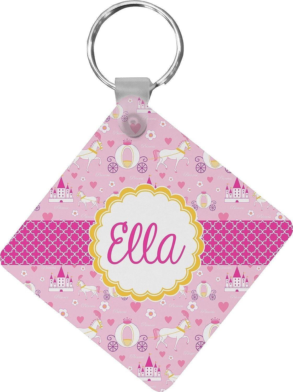 Princess Carriage Diamond Key Chain (Personalized)