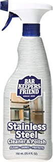 product image for Bar Keepers Friend Stainless Steel Cleaner & Polish (25.4 oz) - Cleans Stainless Steel Refrigerators, Kitchen Sinks, Oven Doors, Oven Hoods, and Other Stainless Steel Surfaces (1)