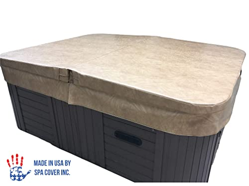 BeyondNice Basic Hot Tub Cover, Custom Made 4 Thick Insulating Replacement Spa Cover - World's Only Design Your Own Ordering Wizard Insures Every Cover is Made Perfectly for Every Customer