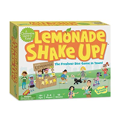 Peaceable Kingdom/ Lemonade Shake Up! A Cooperative Game for Kids: Toys & Games
