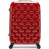 Lulu Guinness Hardside Spinner Suitcase, 69 cm, Red