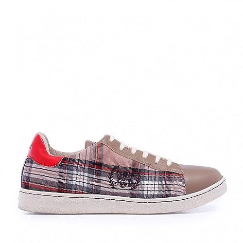 Xyon Revolution British Sneakers Zapatilla Deportiva con Cordones Hombre: Amazon.es: Zapatos y complementos