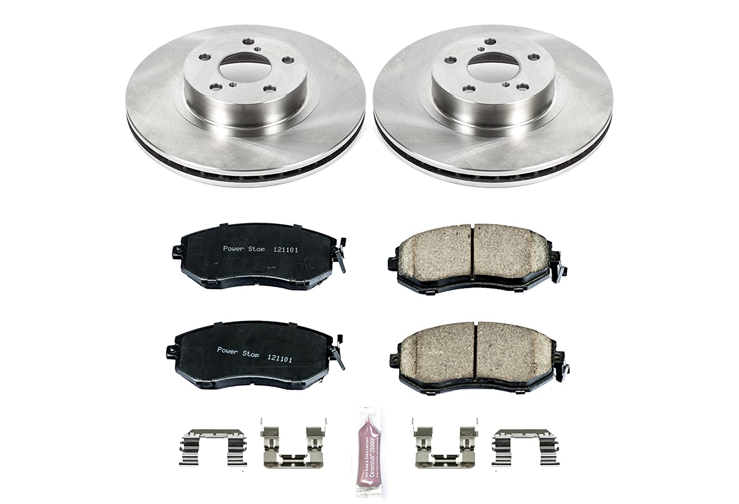 KOE6111 1-Click OE Replacement Brake Kit Autospecialty