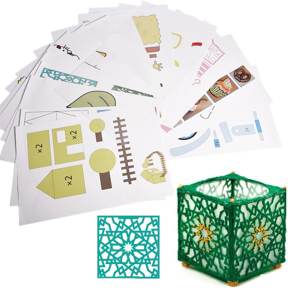 Tangxi Papel de Plantilla para Lápiz de Impresora 3D, 20 Piezas ...