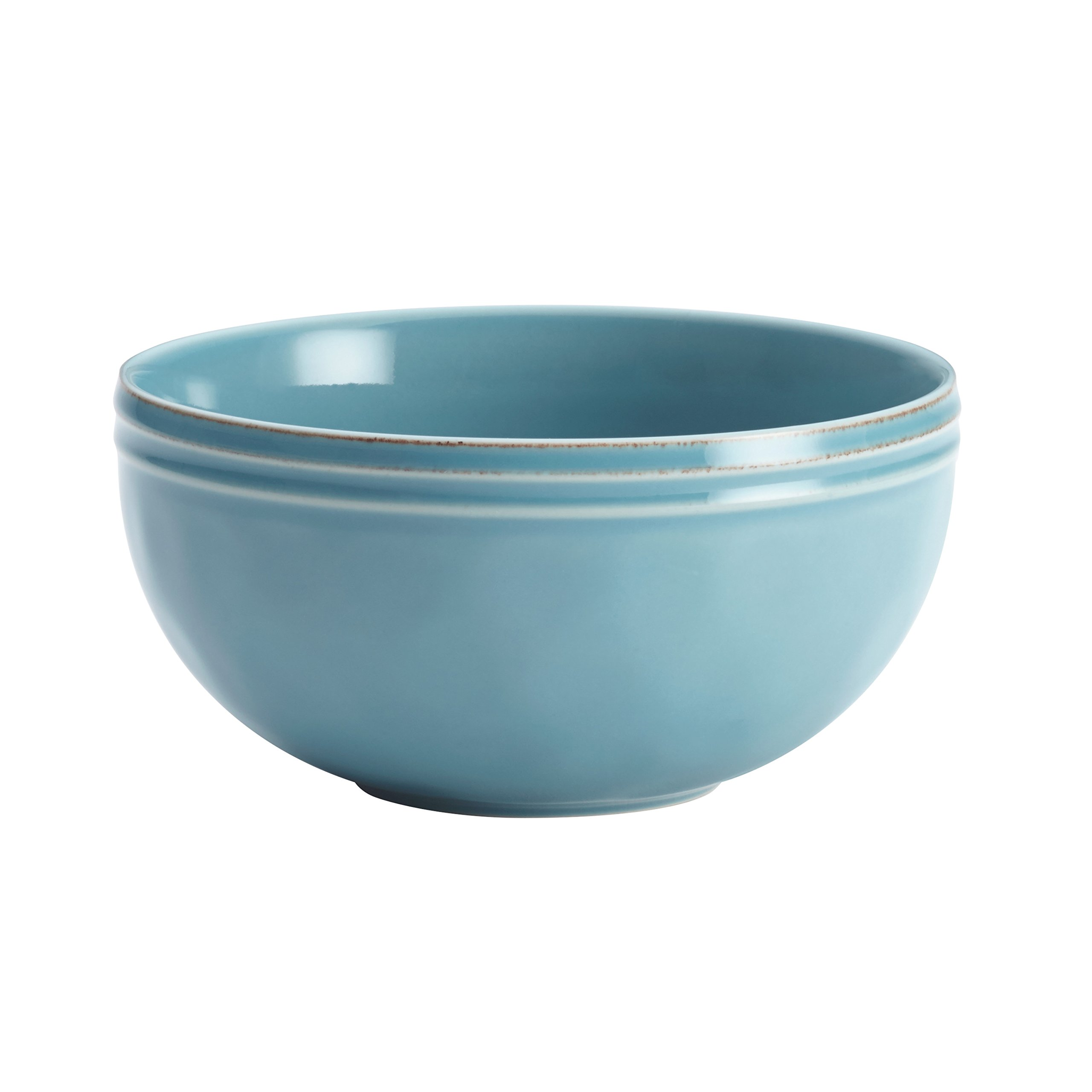 Rachael Ray Cucina Dinnerware 16-Piece Stoneware Dinnerware Set, Agave Blue by Rachael Ray (Image #10)