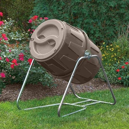 Suncast TCB6800 6.5 Cubic Foot Tumbling Composter: Amazon.es ...