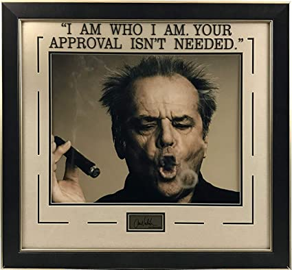 Amazon.com: Jack Nicholson Photo and Quote: Sports Collectibles