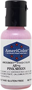 AmeriColor Amerimist Airbrush Color .65 Ounce, Pink Pearl Sheen