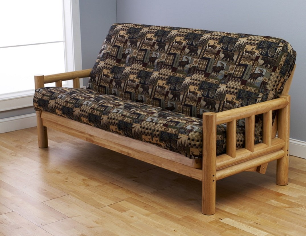 pinterest futons covers pin rustic futon