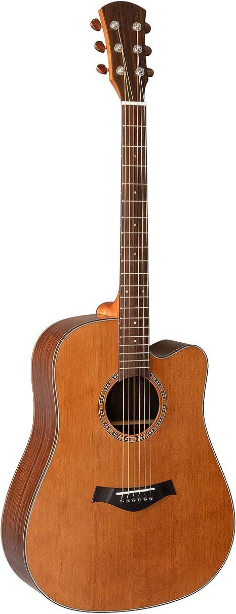 Nueva Guitarra De Una Sola Placa De 41 Pulgadas Tocando Guitarra ...