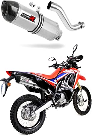 CRF 250 Rally Escape Moto Deportivo HP1 Carbon Silenciador Dominator Exhaust Racing Slip-on 2017 2018 2019