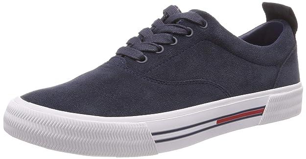 Oxford Sneaker Homme 45 Sneakers Hilfiger City Tommy Eu black Basses 990 Jeans Noir Denim 5qfqaS