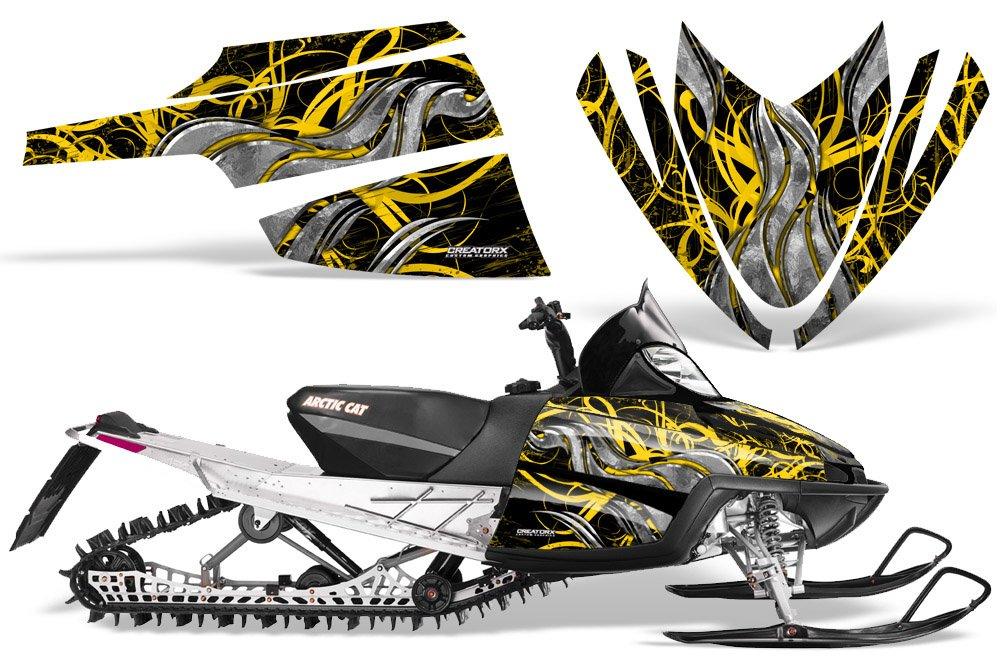 Amazoncom Creatorx Arctic Cat M Crossfire Snowmobile Sled Graphics