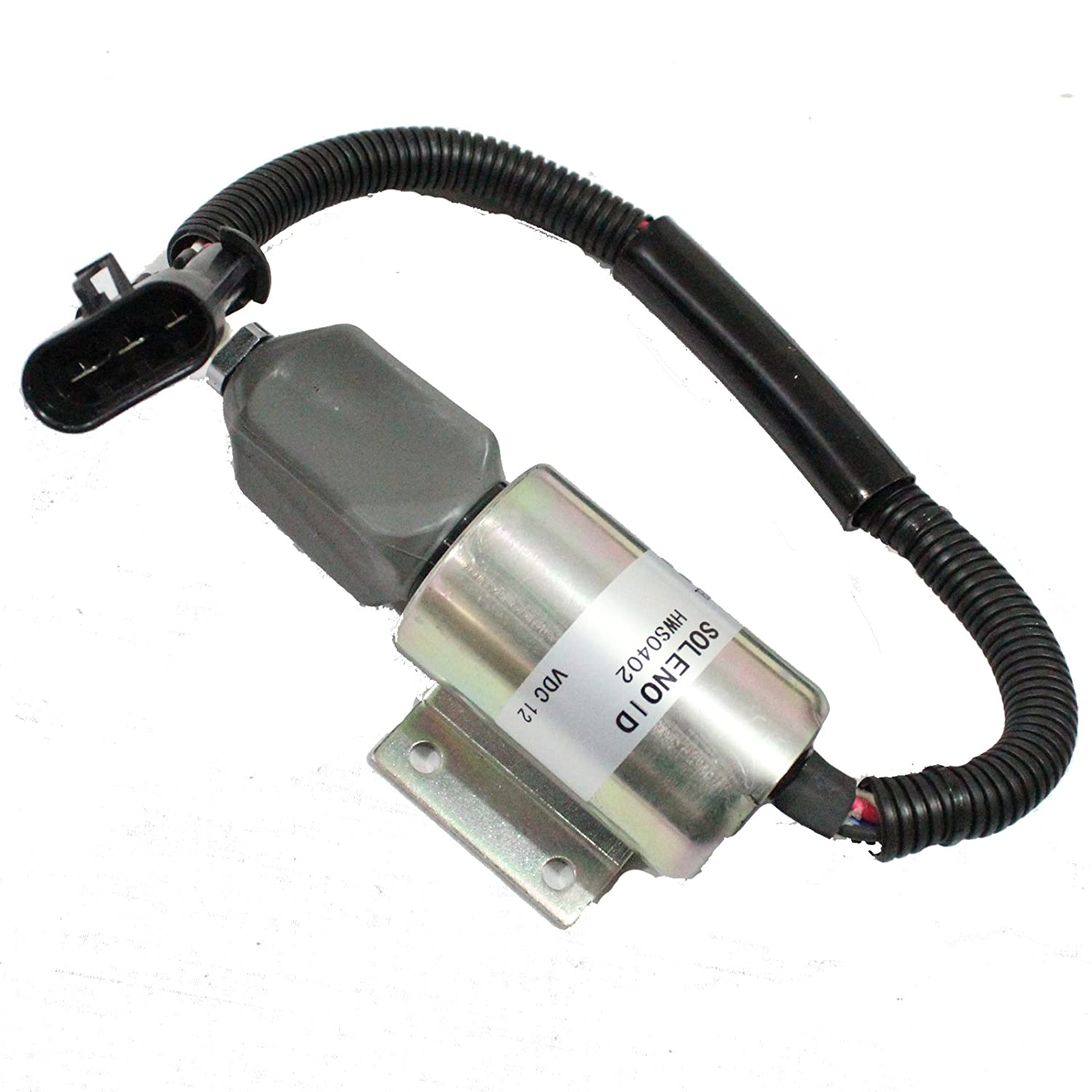 Holdwell Fuel Solenoid 59009134 SA-4532-12 2003ES for Ingersoll-Rand DD-130 Compactor B5.9-C