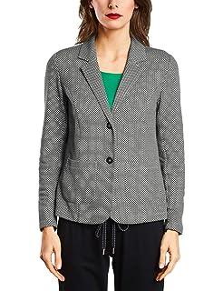 VERO MODA - Damen Jersey-Blazer in grau mit Muster oder schwarz ... 563f20c580