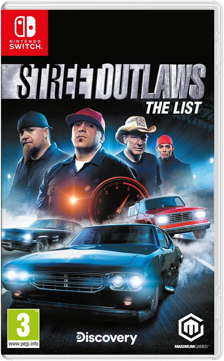Street Outlaws: The List - Nintendo Switch [Importación inglesa ...