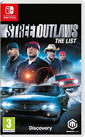 Street Outlaws: The List - Nintendo Switch [Importación inglesa ...