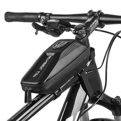 pantalla t/áctil resistente al agua Ciclismo Manillar Parte frontal del marco del tel/éfono Soporte para el iPhone Samsung Galaxy Otro Hasta 6 pulgadas Smartphone Bolsas para cuadros de bicicletas