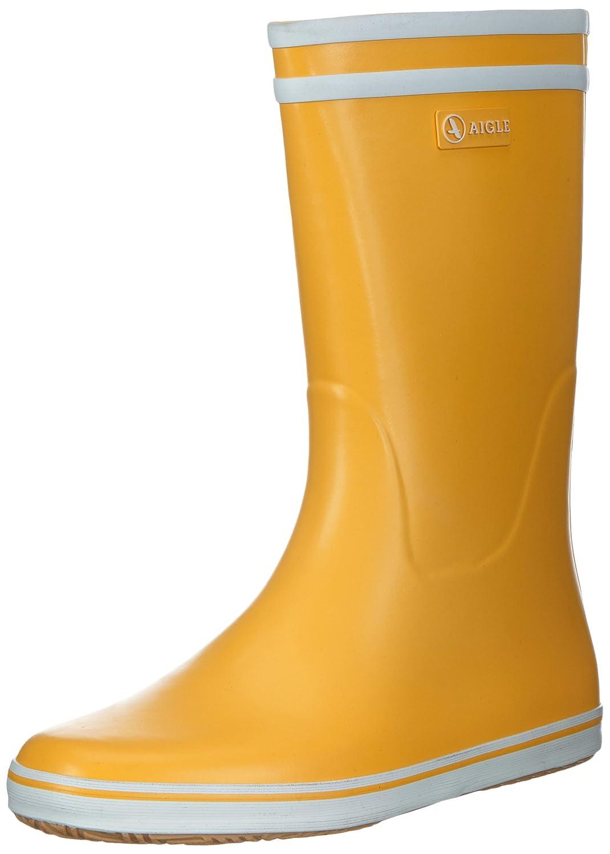 Aigle Malouine BT, Bottes de BT, Pluie Pluie Femme Jaune (Orange Malouine/Blanc) 354548e - fast-weightloss-diet.space