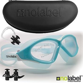 No Label Gafas de natación - Gafas de natación de Triatlón - Gafas con Lentes Anti