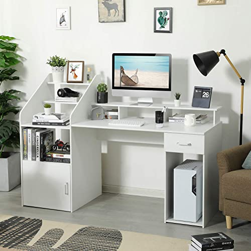 Itaar 64.5'' Large Computer Desk