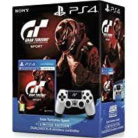 PS4 GT SPORT GAME TITLE WITH CUSTOM-MADE DS4 CONTROLLER (PS4)