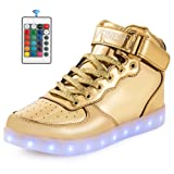 Amazon Price History for:AFFINEST LED Light Up Shoes High Top Fashion Sneakers For Kids Boys Girls