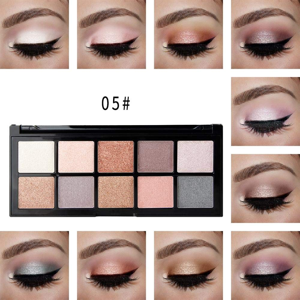 Beauty Creations 9 Colors Eyeshadow Tin Palette Case (Bare Naked)