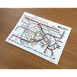 JR東日本 東京近郊路線図クリアファイル 2018