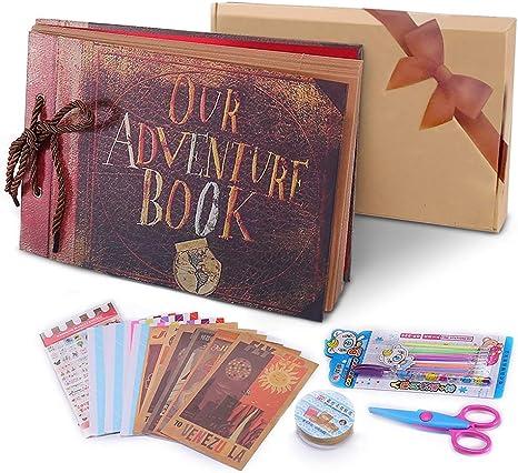 1st Regalo de Cumpleaños Regalo Personalised grande de lujo del libro de visitas álbum de fotos