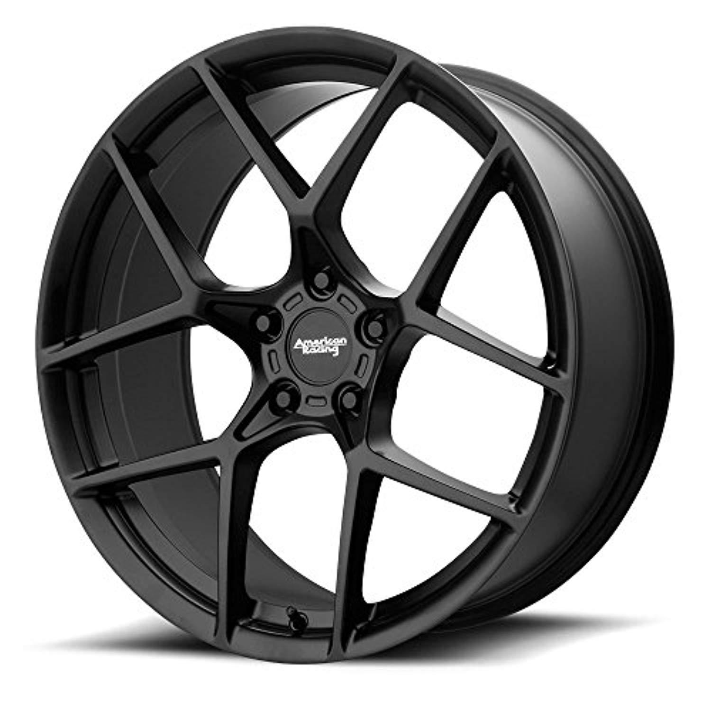 19' American Racing AR924 Cross Fire Wheel - Black 19x8.5 5x120 +50