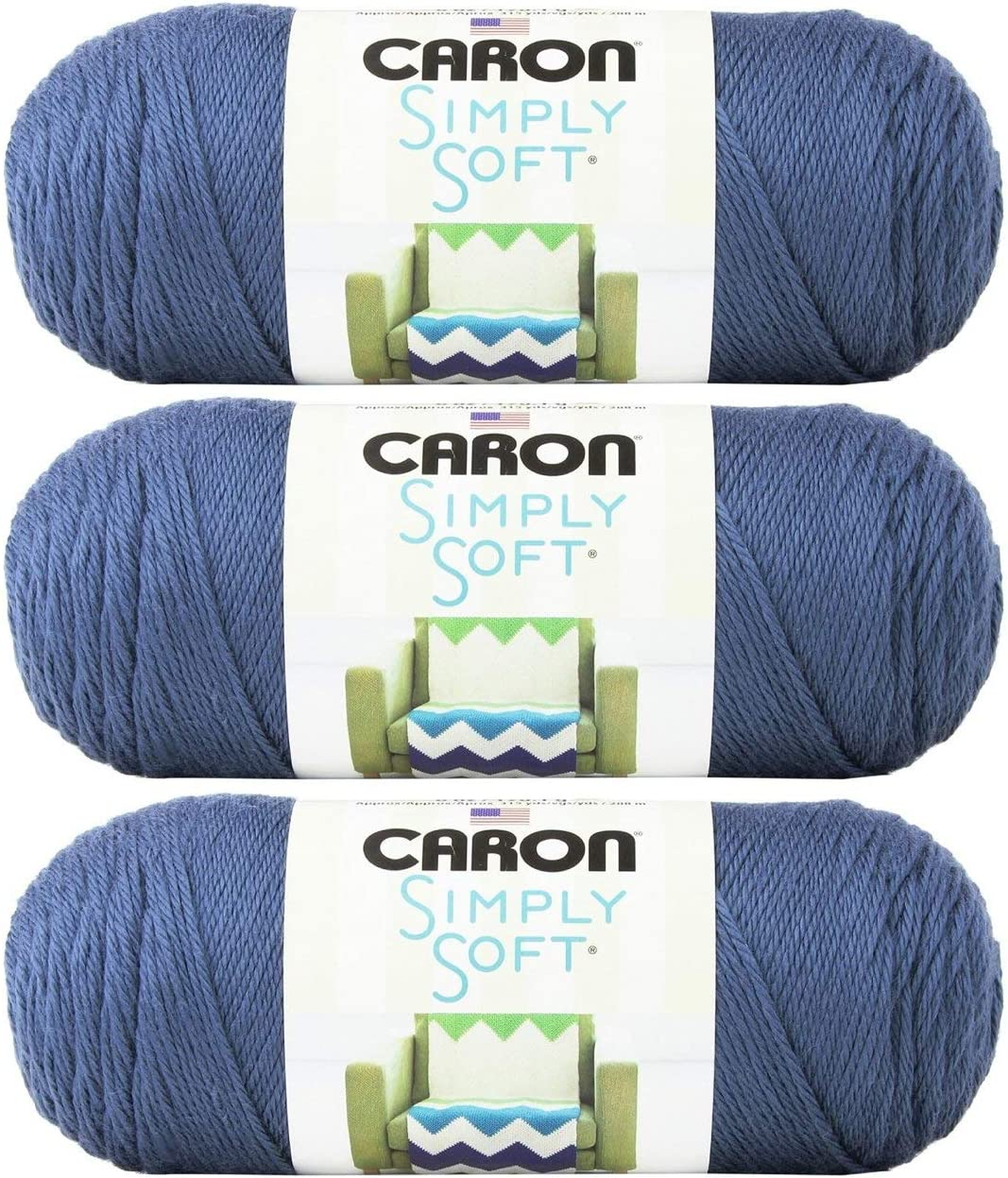 Aran Country Blue Simply Soft