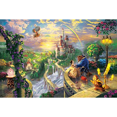 Puzzll Jigsaw Puzzles 1000 Pieces Fairy Tale World Kids Puzzles Educational Toys for Adults Children Toy Home Decor Collectible: Toys & Games