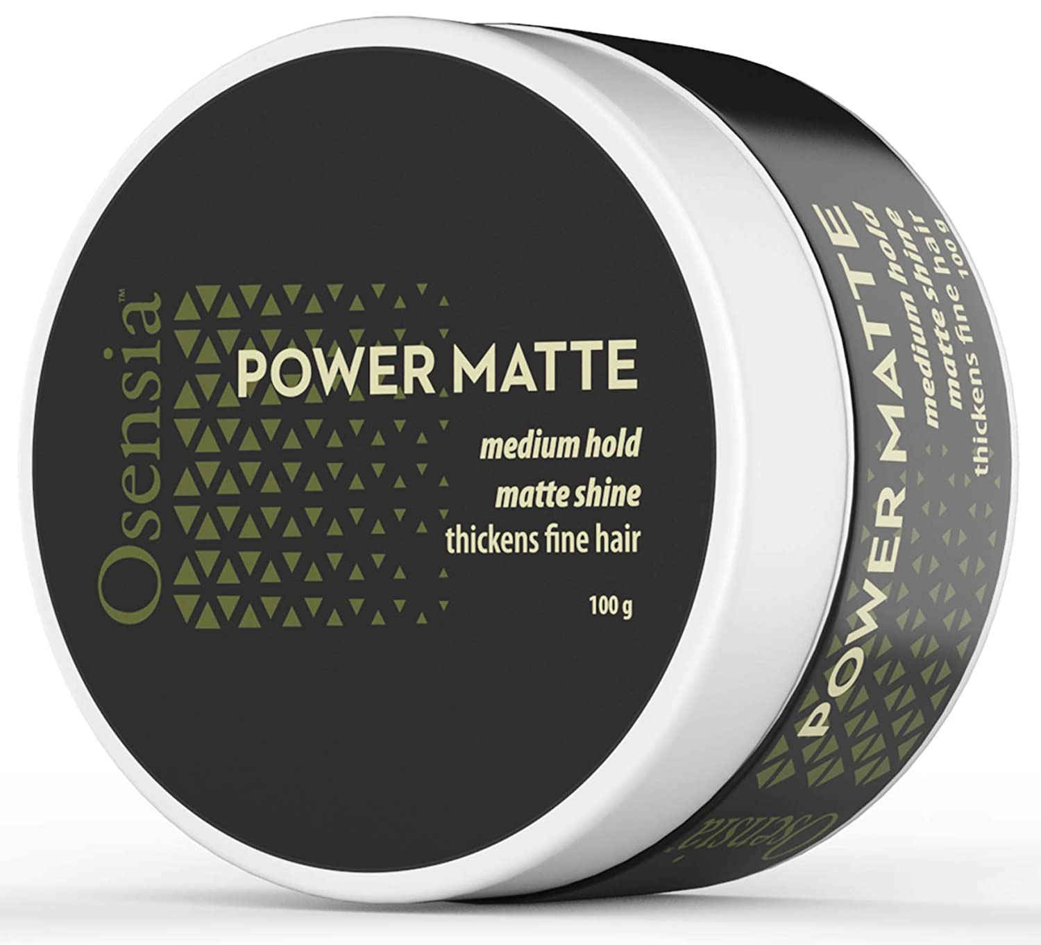 Matte Hair Clay - Water Based Hair Styling Gel with Matte Finish and Medium Hold for Natural Styling