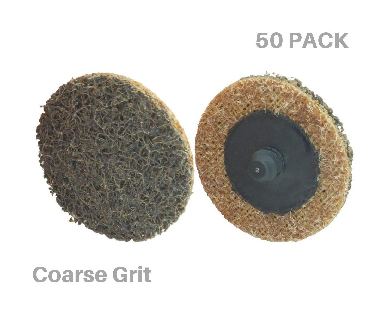 """Pro Select Abrasives 50 pc Extra Thick 2"""" Coarse Roloc Surface Conditioning Disc, Lasts 3X Longer Than Other Name Brands, Amazing Surface Finishing"""